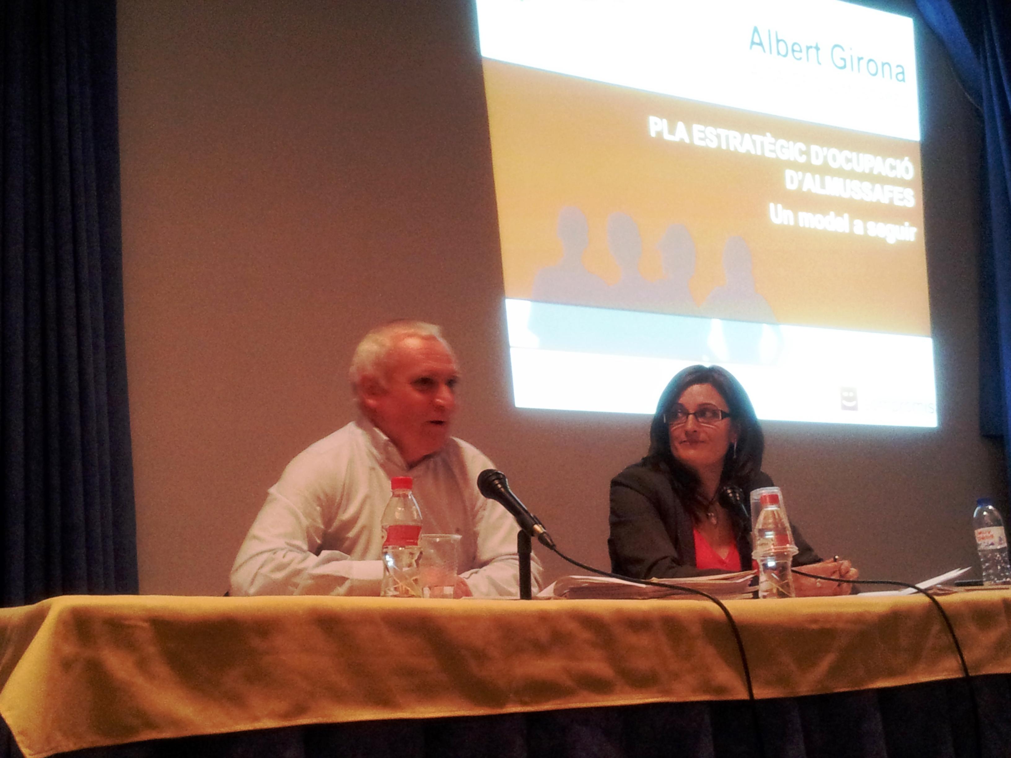 Albert Girona i Maria Josep Ortega