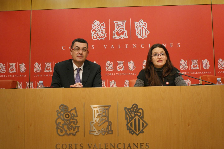 Enric Morera i Mònica Oltra
