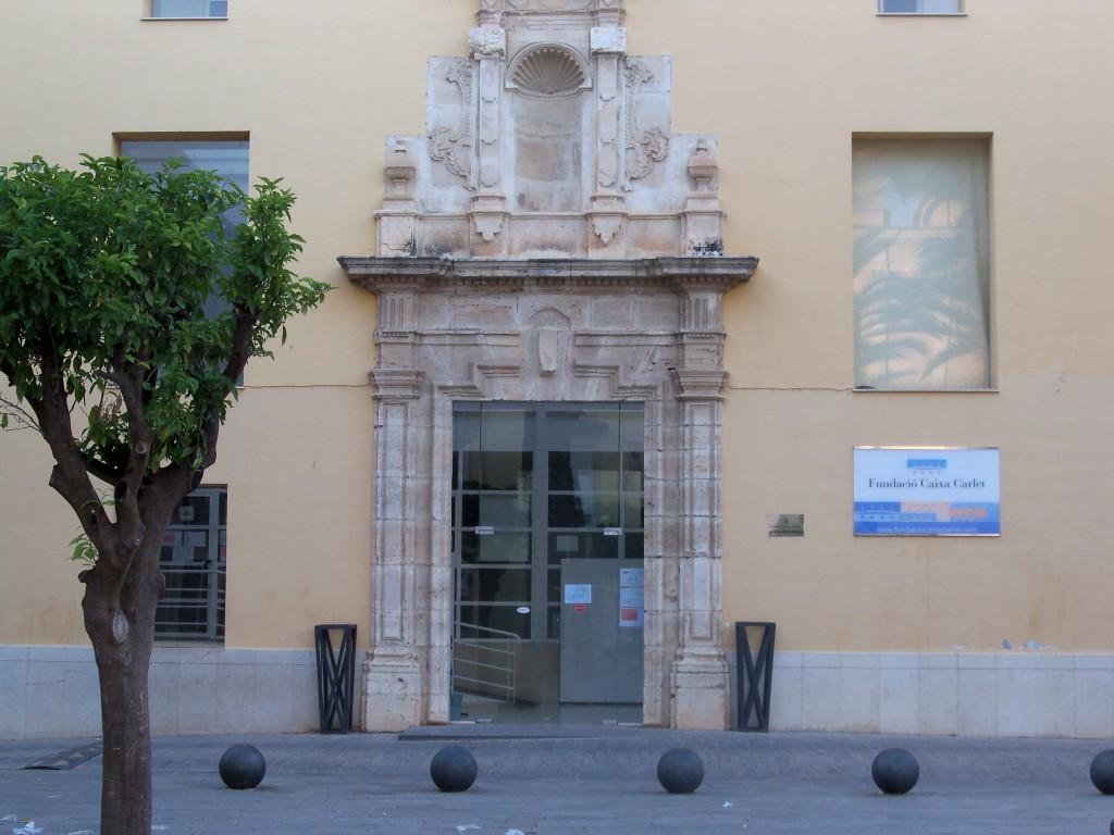 La casa de cultura va ser la seu de Tele Carlet durant molts anys.
