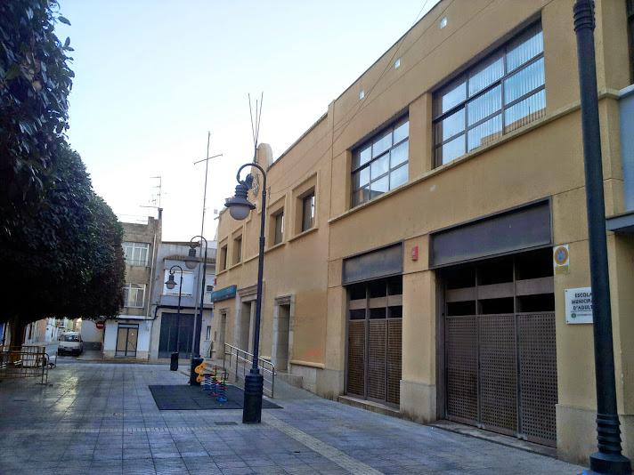 Edifici de la nova biblioteca municipal qmpromís va proposar